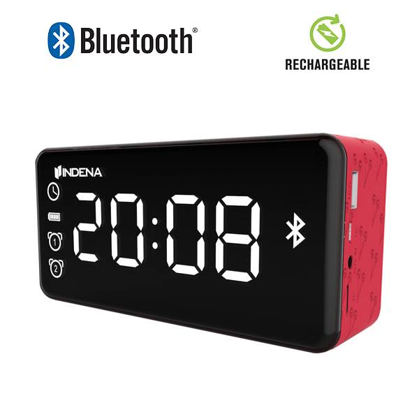 Private design 2016,All-in-one tablet bluetooth speaker with alarm clock radio