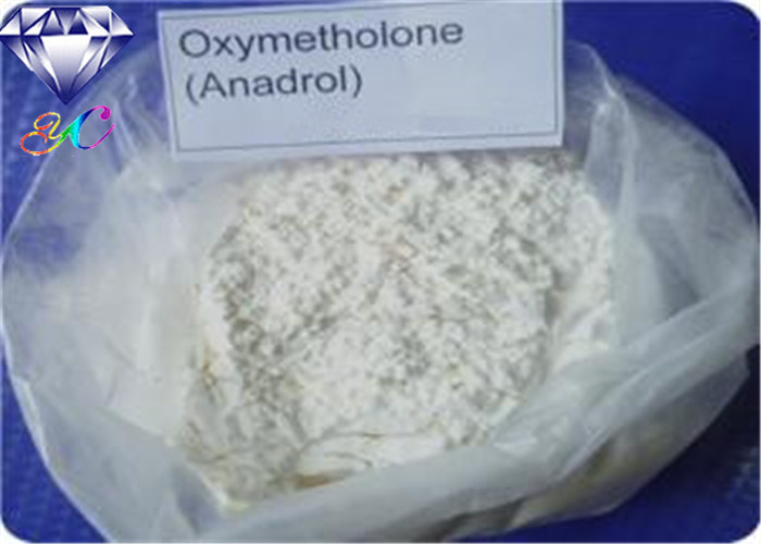 98% Injectable Oral Anabolic Steroids Anadrol Oxymetholone with White Powder CAS:434-07-1