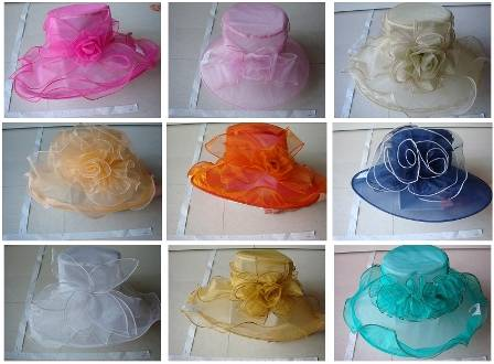 2013 for new cool/summer/soft organza hats