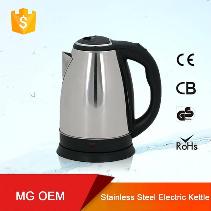 OEM wholesale stainless steel electric custom kettle popular