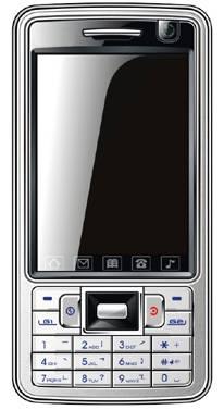 """3.0"""" Bluetooth Dual Sim Card Phone --TM403"""