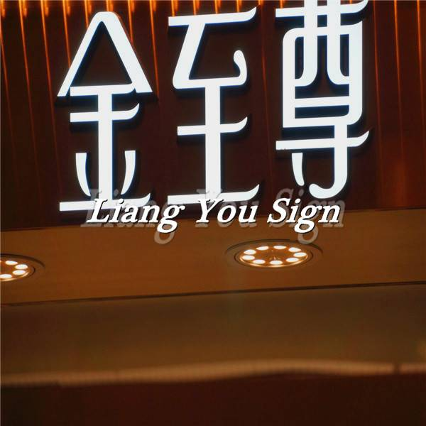 The Unique Pretty Custom PMMA Led Face Light led letter lights