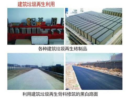Construction Waste Regeneration Utilization