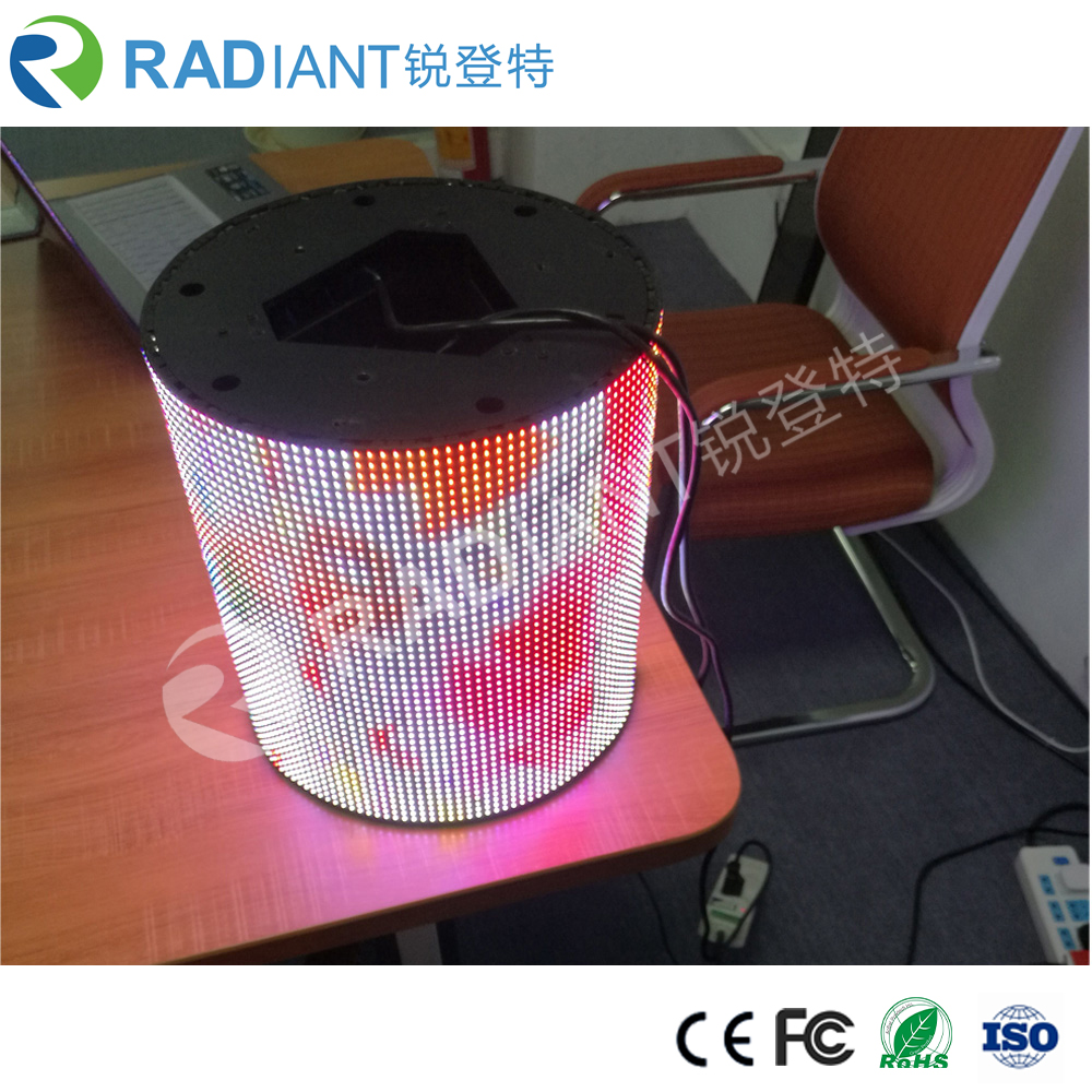 P6 Project of Soft LED Video flexible led display