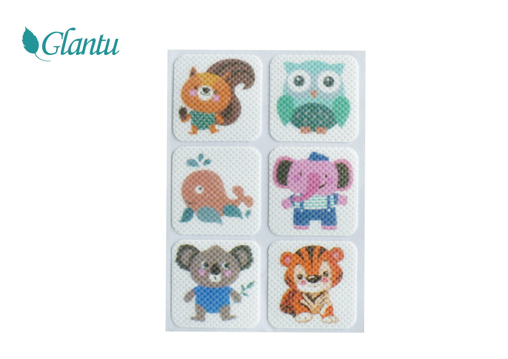 Animal Cartoon Natural Mosquito Repellent Patch for Children