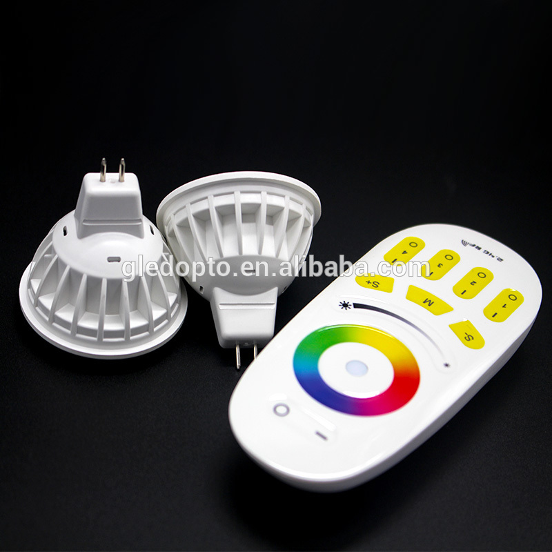 2.4G 4W RGBW LED MR16 bulb, MR16 spotlight,MR16 light bulb,RGBW GU5.3 rechangable color