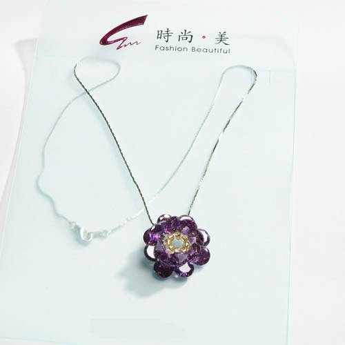 selling crystal  pendant jewelry NK006