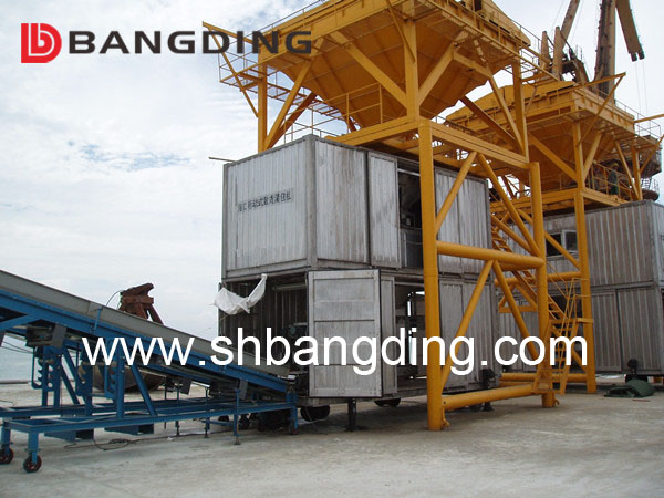 BANGDING port movable containerized weighing and bagging machine