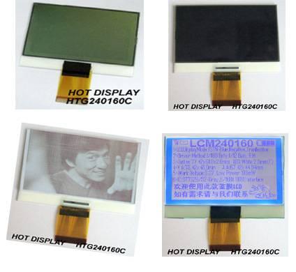 240160 - 32 gray scale COG dot matrix module