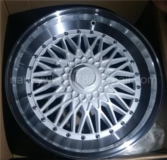 Fine processing new BBS alloy wheel rim
