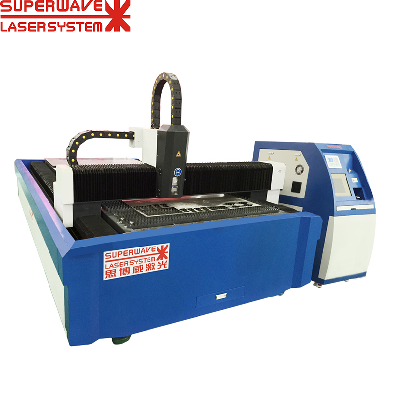 500W 1000W 1500W 2KW 3KW 6KW Cnc Fiber Laser Cutting Machine