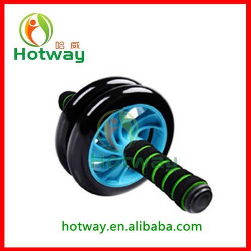 High Quality Foam Dual Silent Abdominal AB Power Wheel AB Roller Exercise Wheel
