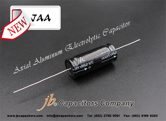 JAA - 2000H at 85°C, Axial Aluminum Electrolytic Capacitor (Low Leakage)