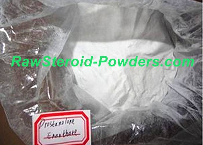 Natural Drostanolone Enanthate Raw Steroid Powders / Drolban Powders For Bodybuilding Cycle CAS 472-