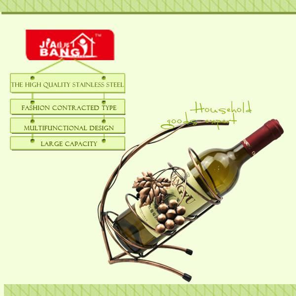 Hot Sale Single Bottle Shape Wine Rack