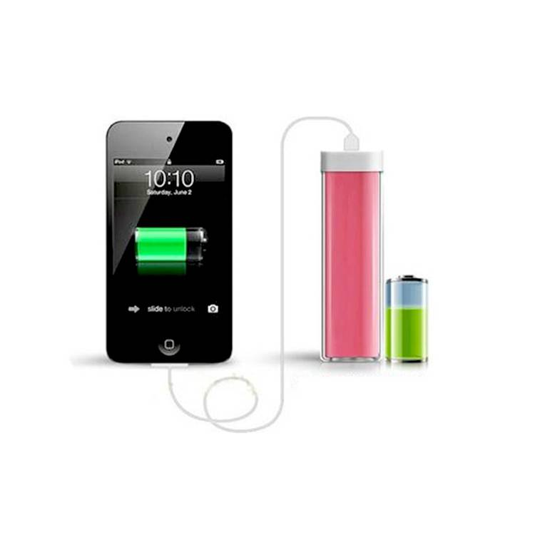 2200mah lipstick power bank