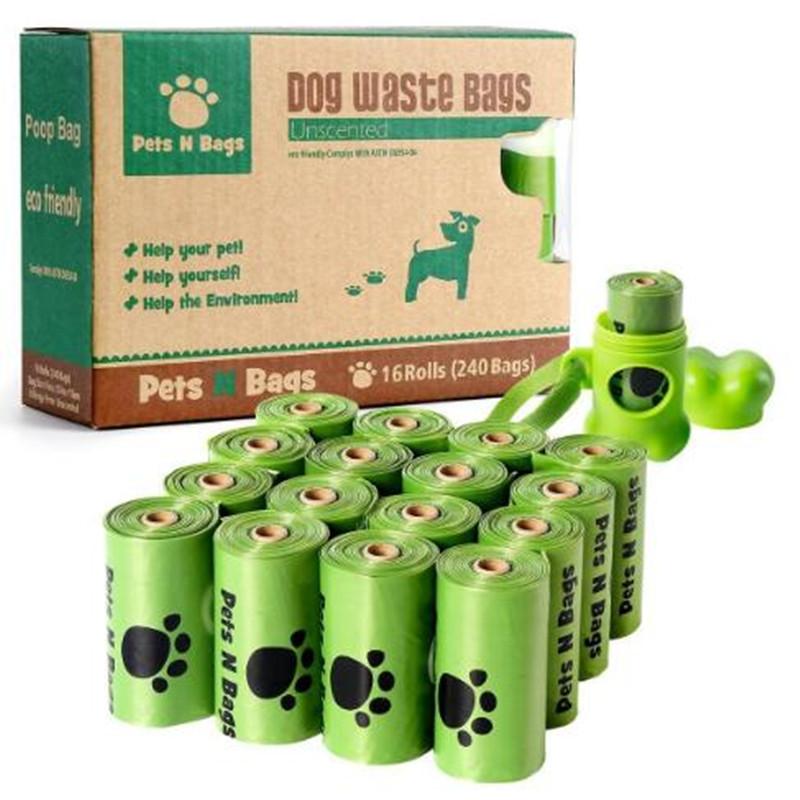 Biodegradable Dog Waste Pick up Poop Bags/ Pet Waste Bag/ Dog Poop Bag for Doggie