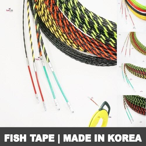 Electrical non-conductive fish tape