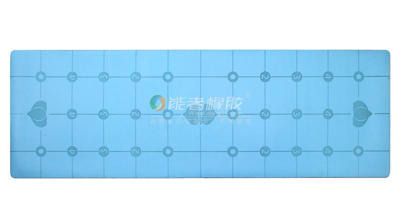 PU dual layer yoga mat liforme high density durable yoga mat