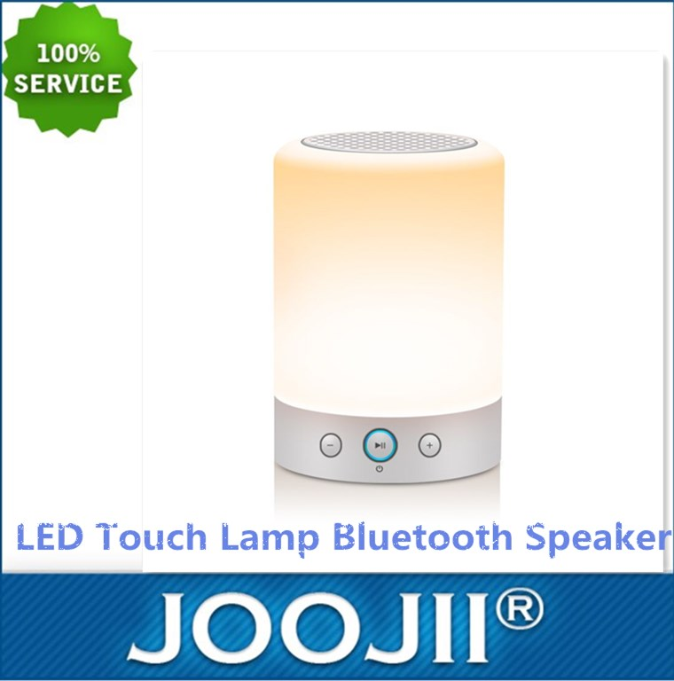 2017 Hot-selling LED Touch Lamp Bluetooth Speaker