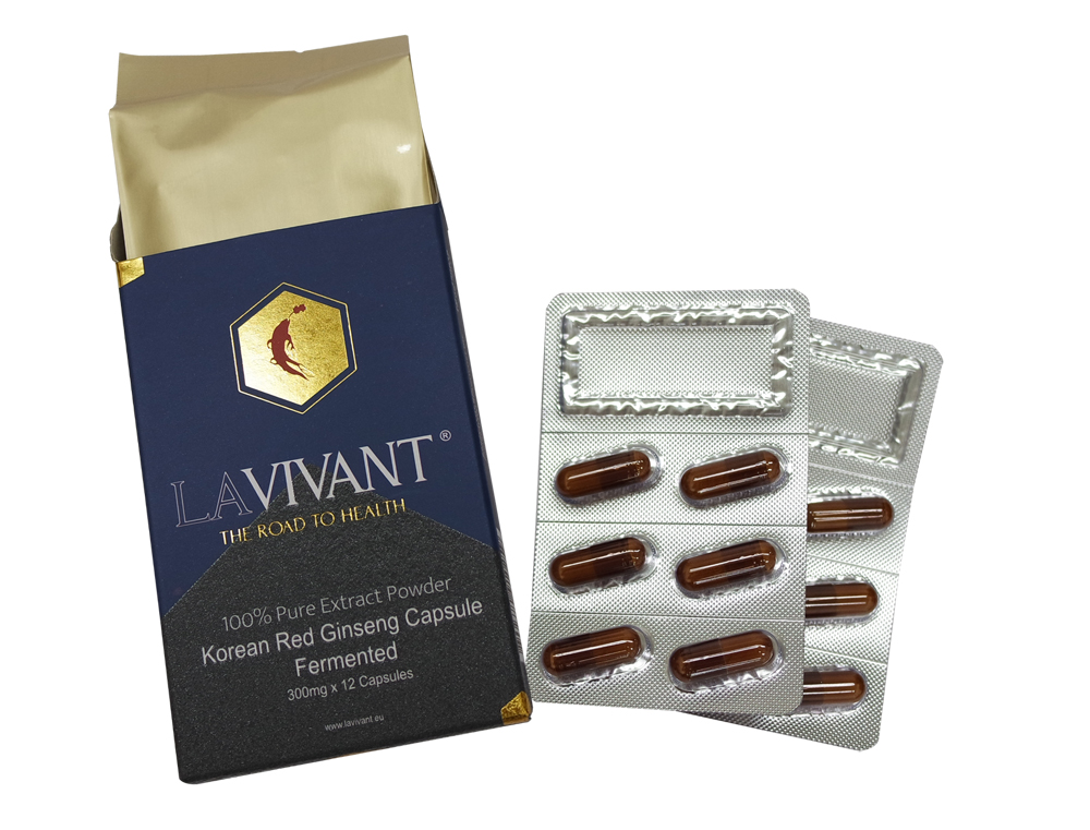 LA VIVANT - Korean Fermented Red Ginseng Extract Powder Capsule