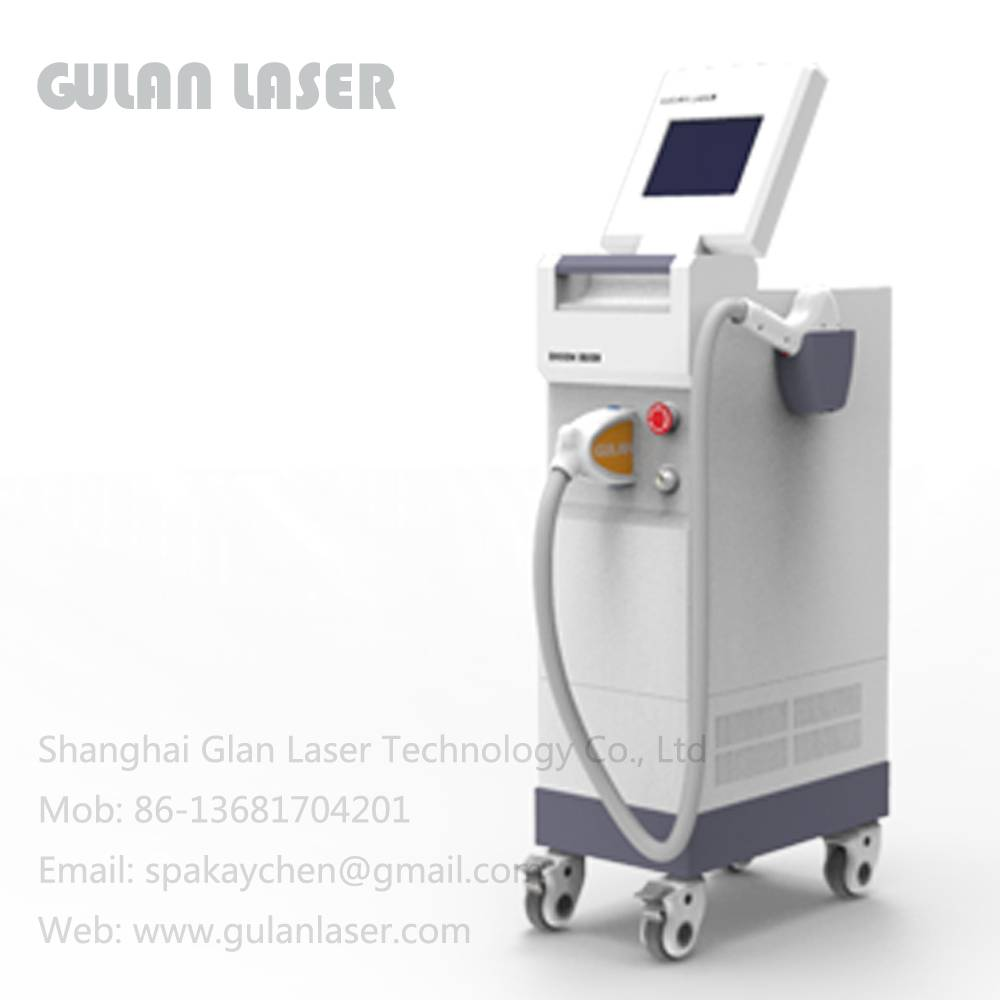 808nm laser hair removal with Germany Laser Bar (Model: DT600)