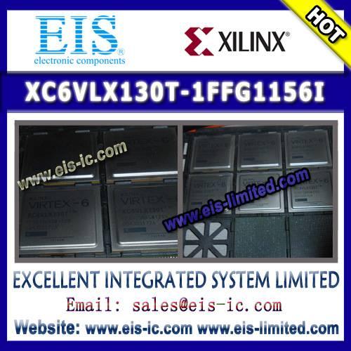 XC6VLX130T-1FFG1156I - XILINX - IC FPGA 600 I/O 1156FCBGA