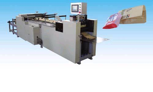 Flat Bottom Paper Bag Machinery Satchel Paper Bag Equipment