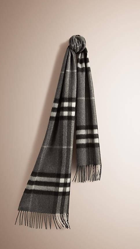 Lady 100% pure cashmere Plaid scarf
