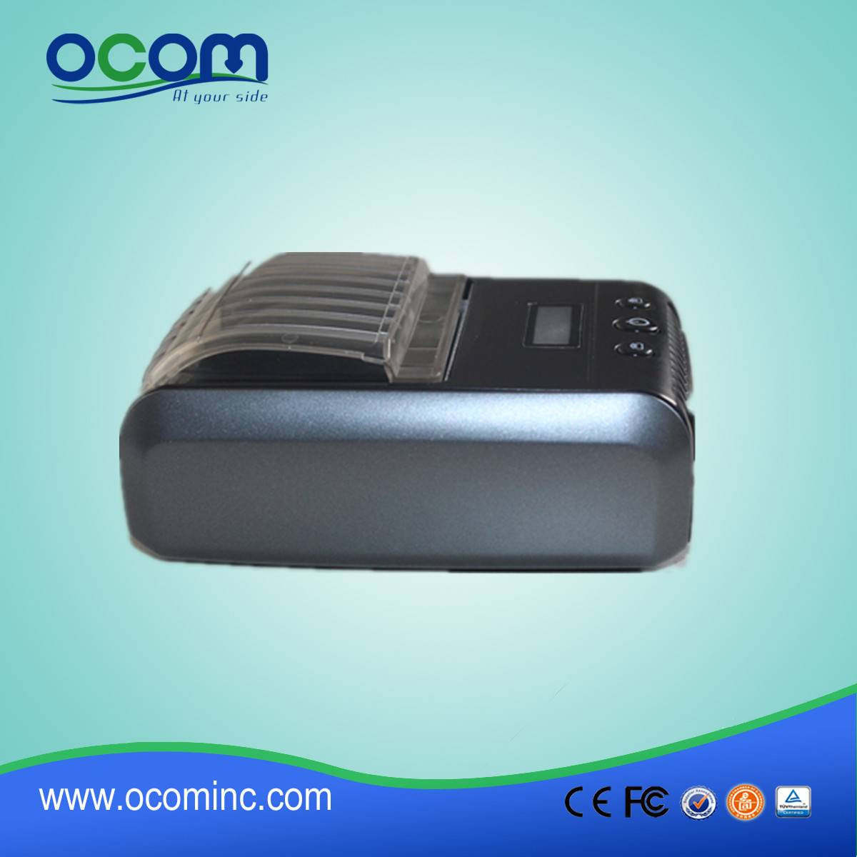 2015 58mm Java portable bluetooth printer label by China manufacture