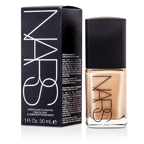 NARS Sheer Glow Foundation - Mont Blanc (Light 2 - Light w/ Pink Undertone) 30ml