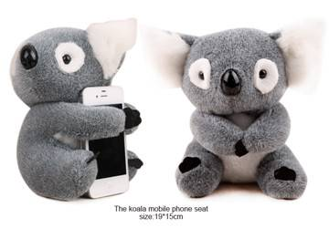 Koala Plush Mobile Phone Holder Toys