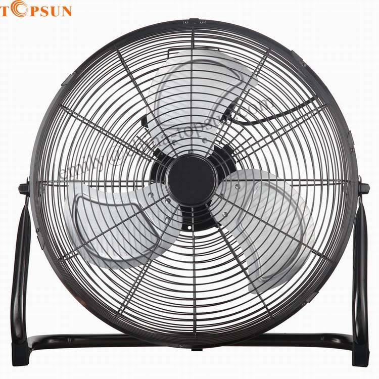 Quiet High Velocity Electric Metal 18 Inch 45cm Floor Fan