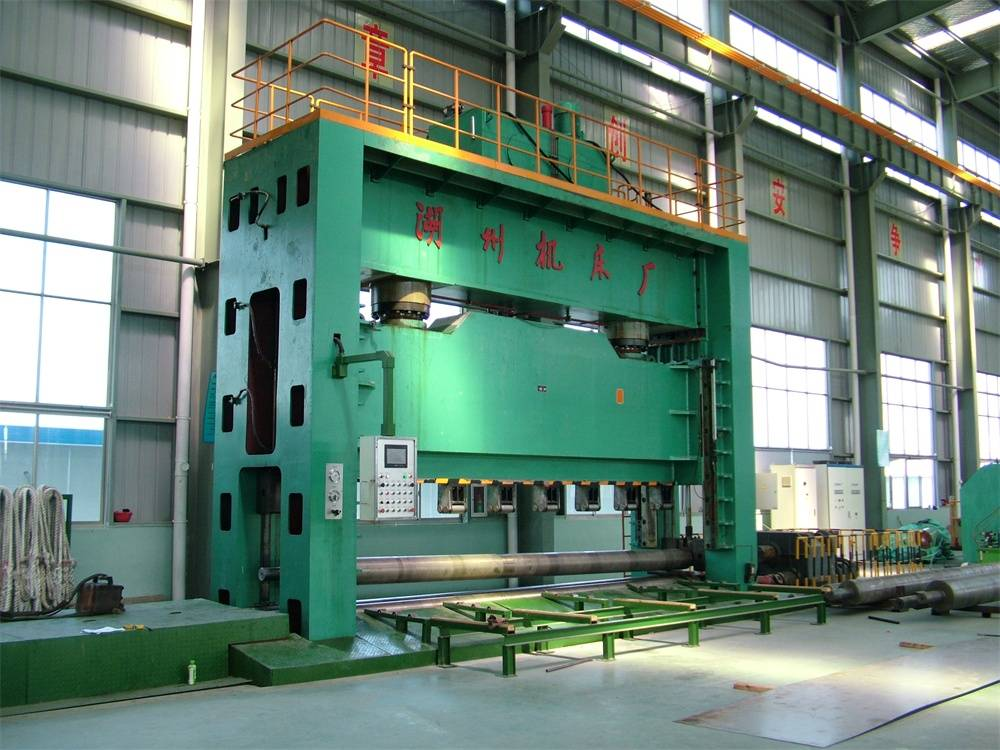 Straight Welding Pipe Hydraulic Press