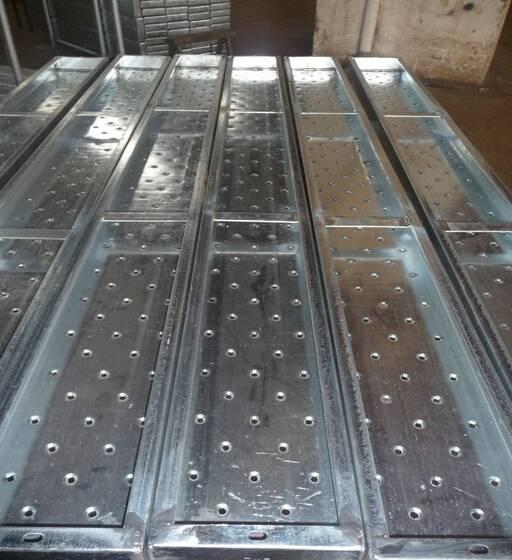 OEM steel plank scaffolding system and steel plank scaffold accessories