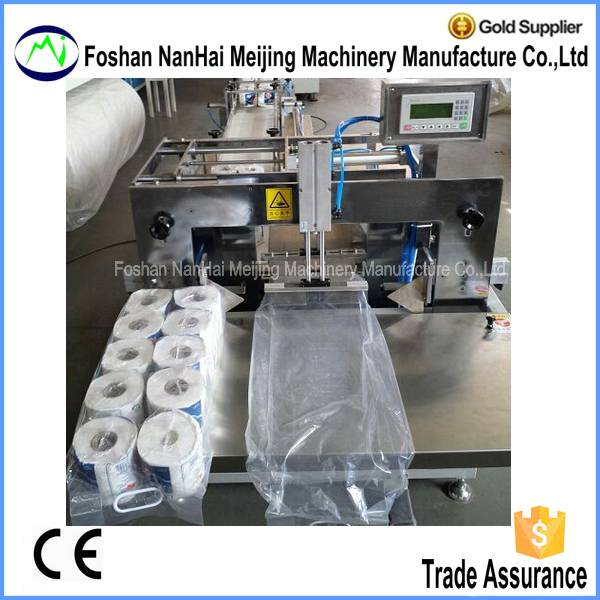 Semi-automatic Toilet Paper/Kitchen Paper Packing Machine