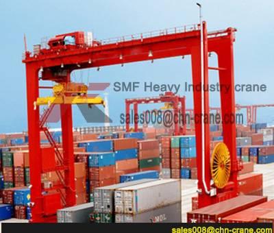 CE Approved Double Girder Truss Gantry Crane