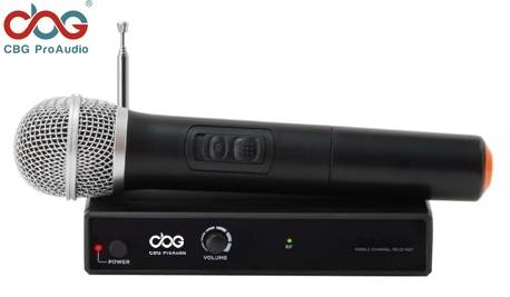 VHF-110 VHF Single Channel Wireless Microphone