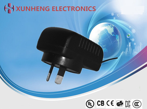 7.5W Interchangeable Adapter, 6 Types of AC Plug, Comply with Energy Level VI