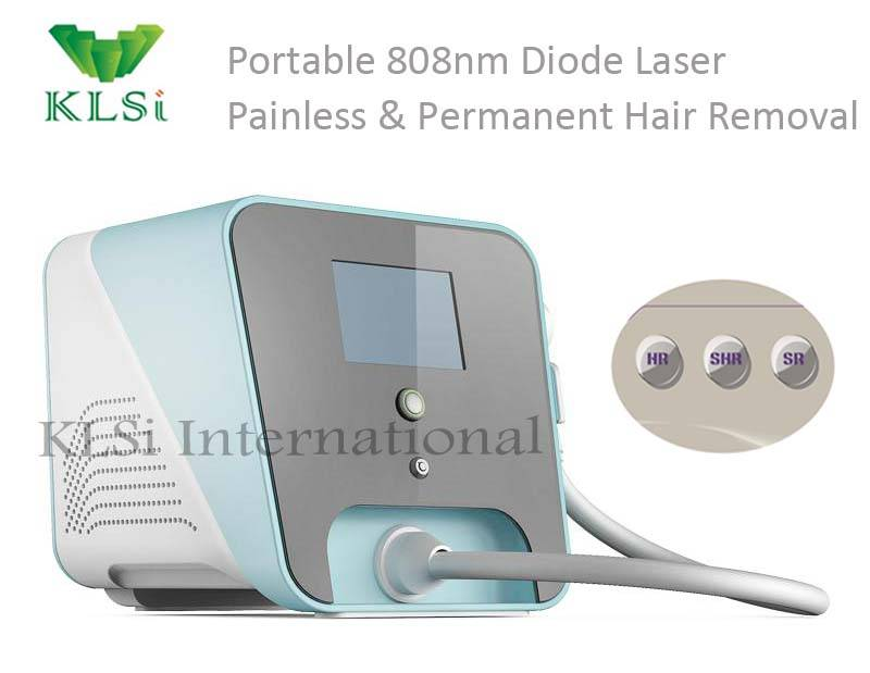 KLSI new arrival high quality 808nm diode laser hair removal machine for sale