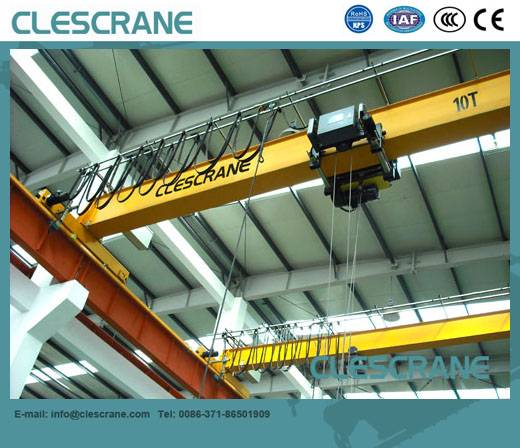 CHS Series single girder overhead crane 10t for sale US $1000-111111 / Set ( FOB Price)