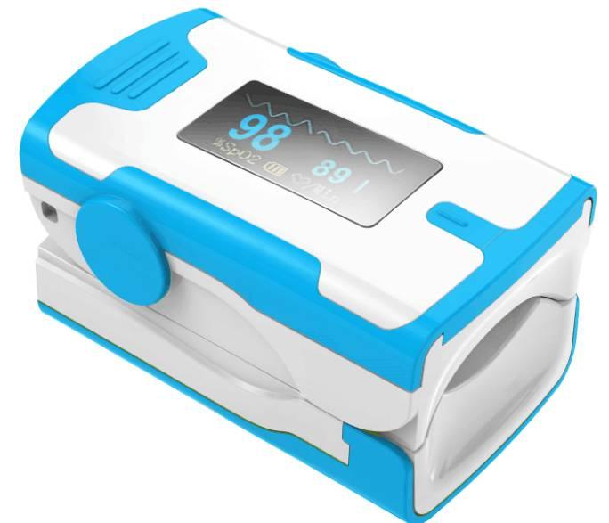 New-fingertip pulse oximeter