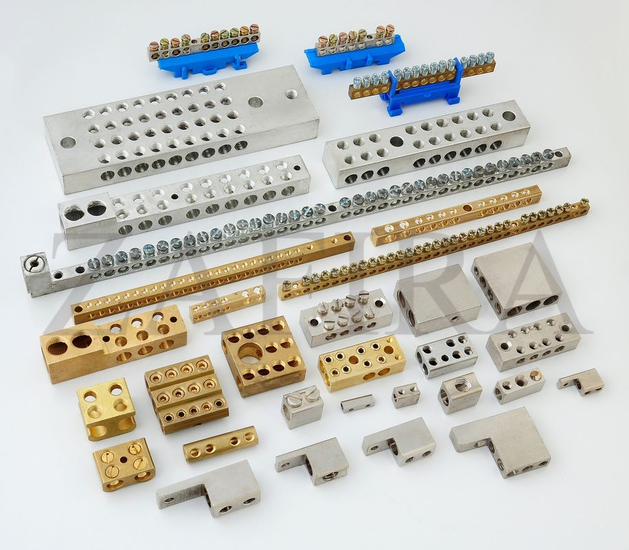 Brass Neutral Links/Terminal Blocks & Bars
