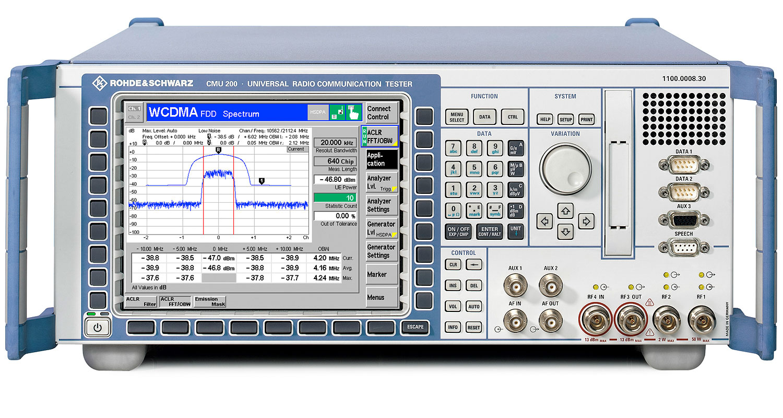 Rohde&Schwarz CMU200 and CMD55