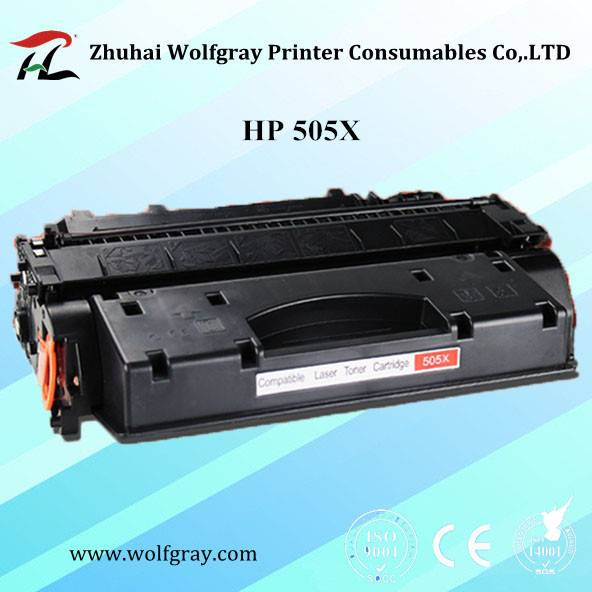 Hot sale compatible toner cartridge HP 505X for HP LaserJet P2050/P2055N