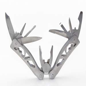 pliers multi tool stainless steel handle camping polyester sheath camping