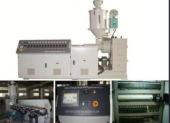 Plastic Sj65/30 Single Screw Extruder