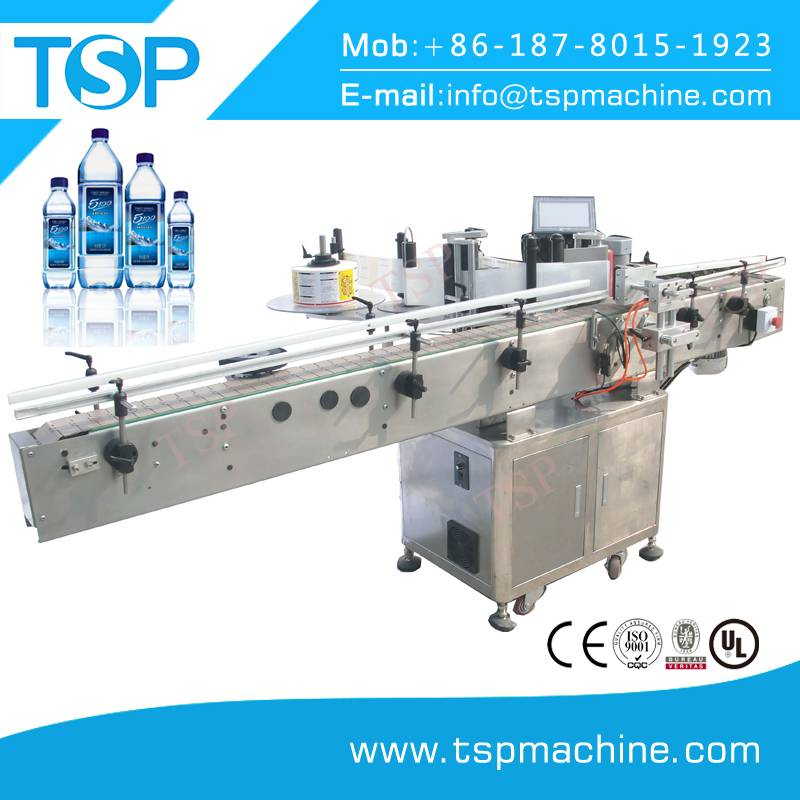New Type Automatic Round Bottle Adhesive Sticker Labeling Machine