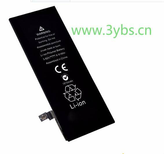 Manufacturer of 1810mAh cell phone battery replace for iPhone6