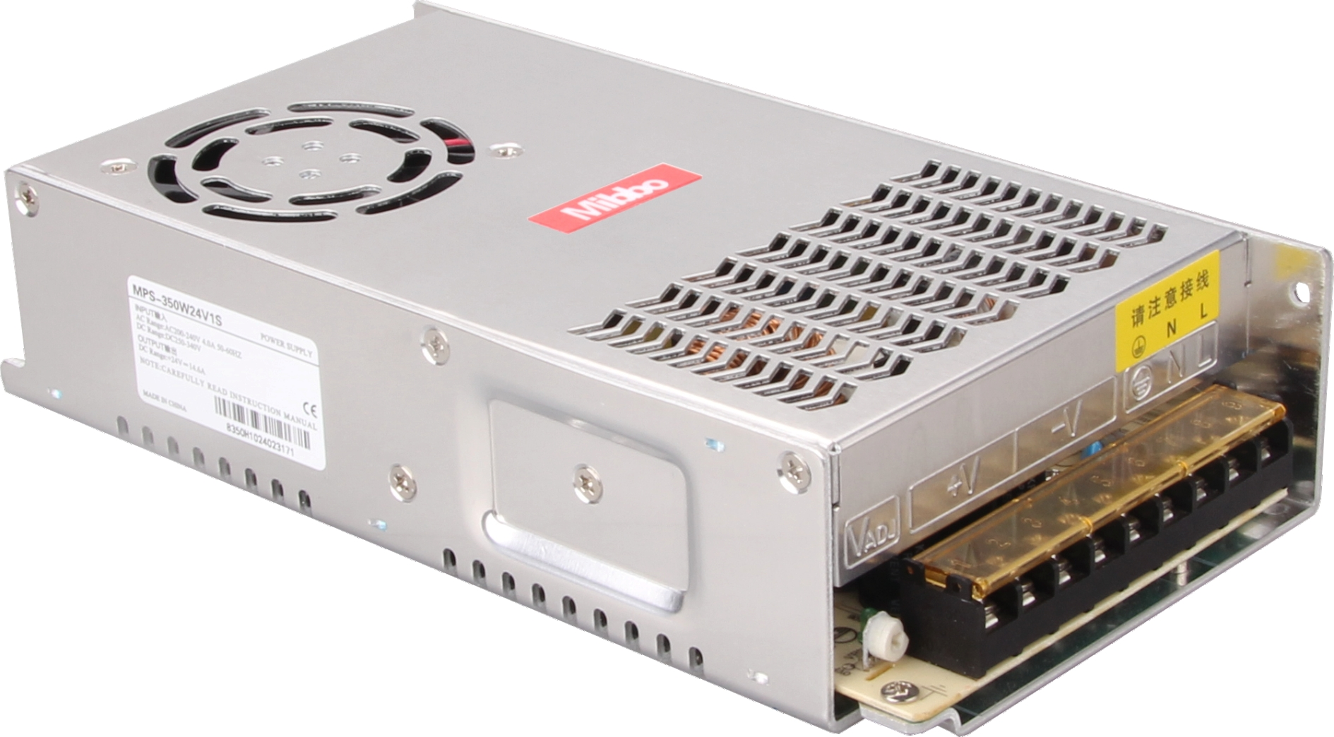 CE certification 350W24V switch power supply